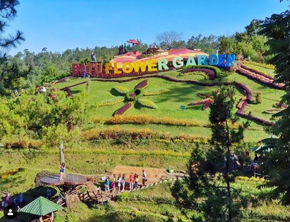 gambar Wisata Batu Flower Garden Jawa Timur