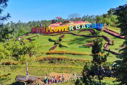 Tempat Wisata Batu Flower Garden, Destinasi Favorit Remaja di Kota Batu Jawa Timur