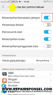 Cara Menampilkan Kecepatan Internet Vivo Smartphone