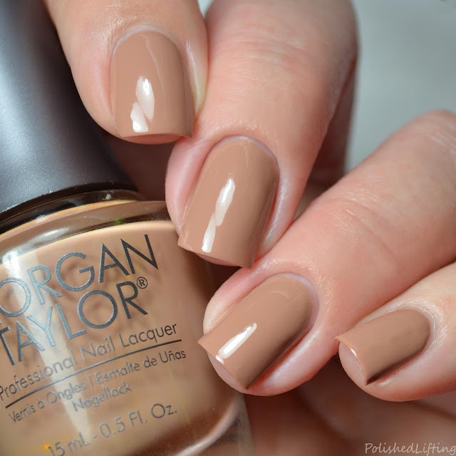 warm neutral creme nail polish