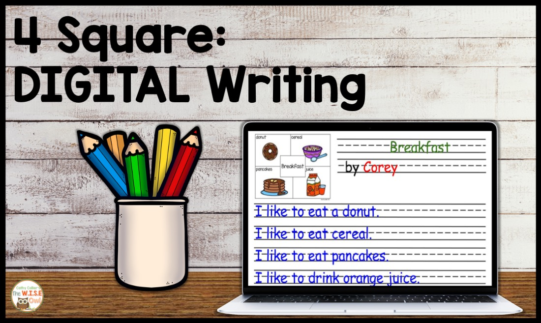 4 Square writing can be adapted for this digital world. It requires typing skills, but they can be developed along with writing skills.