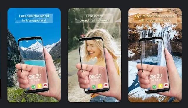 تطبيق Transparent Wallpaper - Transparent Live Wallpaper