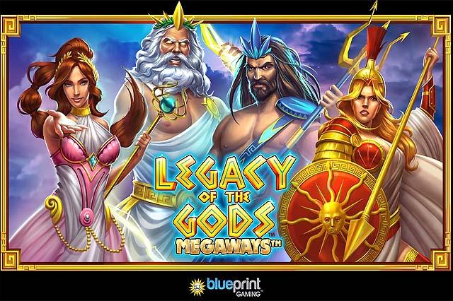 ULASAN SLOT LEGACY OF THE GODS MEGAWAYS (BLUEPRINT GAMING)