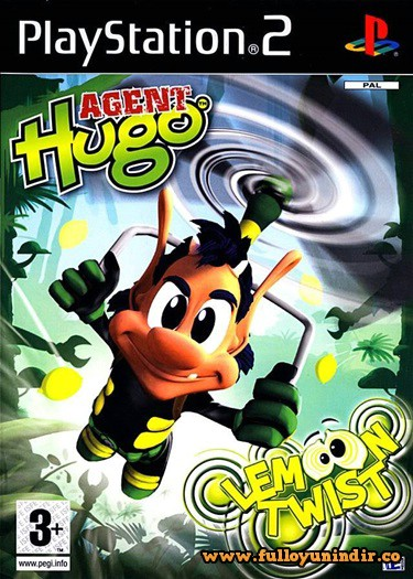 Agent Hugo Lemoon Twist PS2