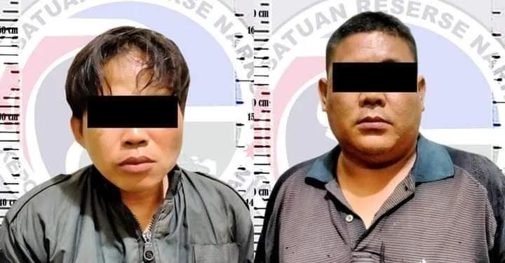 Satresnarkoba Polres Way Kanan Amankan Dua Pelaku Terduga Terlibat Shabu