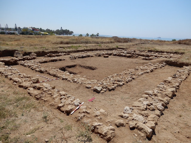 Large Hellenistic sanctuary complex unearthed in Cyprus