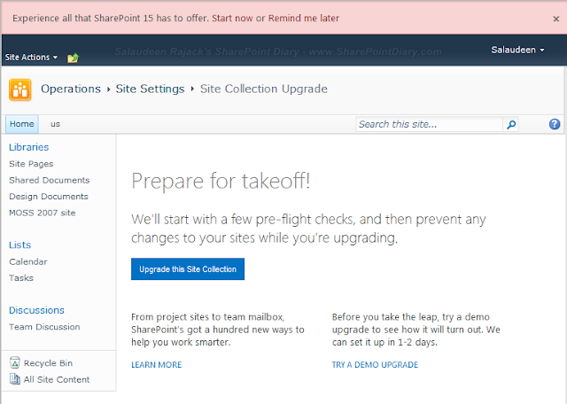 Upgrade SharePoint 2010 Site Collections