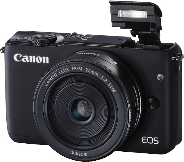 Canon EOS M10 - one of the best mirrorless cameras in 2017