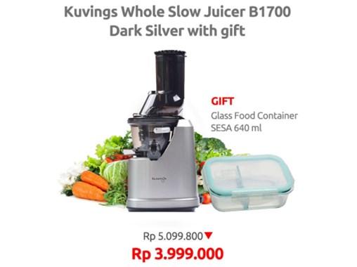 Rekomendasi Slow Juicer Blender yang Bagus dan Awet untuk Jus Buah & Sayuran