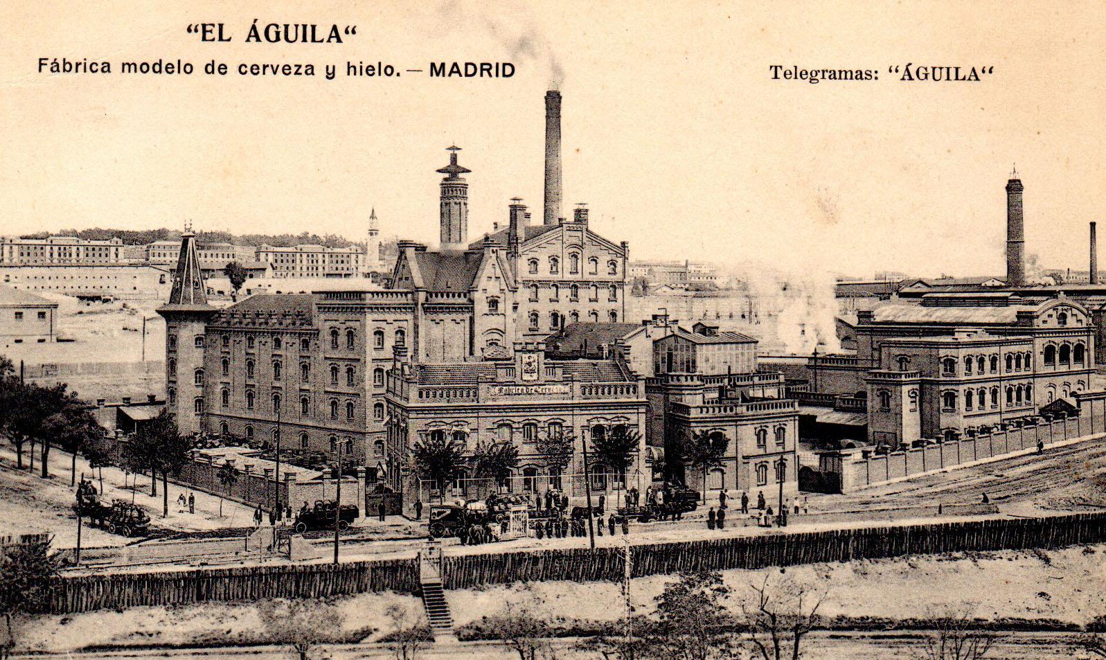 Caminando por madrid las f bricas de cerveza de madrid - Fabricas de cristal en espana ...