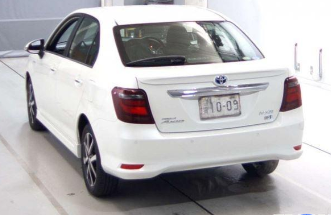Toyota Axio 2019 Rear View