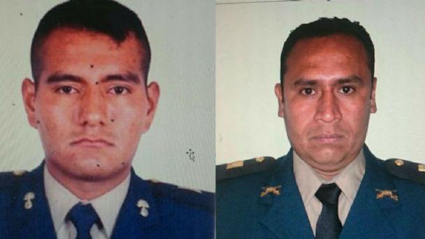 Detienen en Tamaulipas a dos tenientes que llevaban armas para Los Zetas