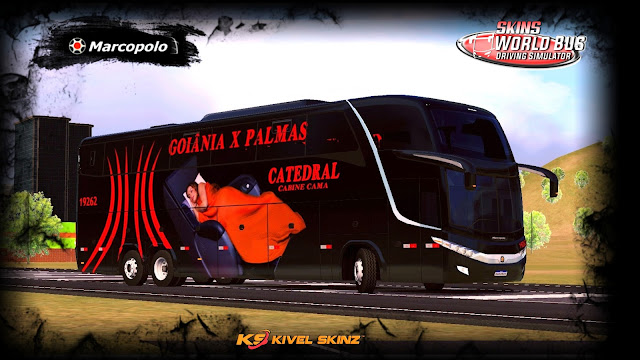 PARADISO G7 1600 LD - VIAÇÃO CATEDRAL CABINE CAMA