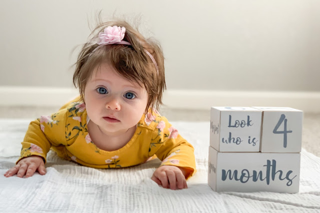 4 month old baby photo #babyphoto