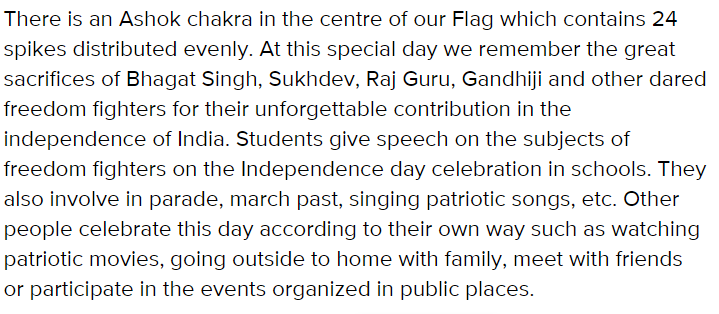 Independence-day-speech-for-students-2019