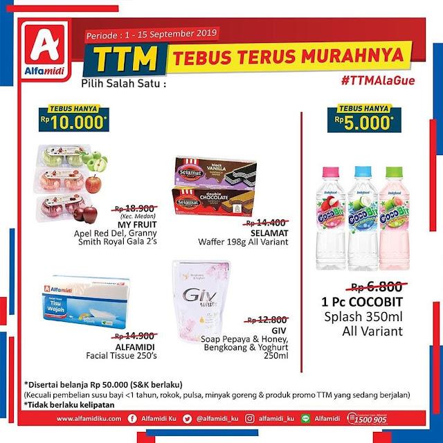 #Alfamidi - #Katalog Promo TTM Periode 01 - 15 Sept 2019