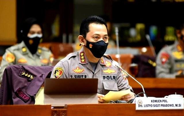 SAH! Paripurna DPR Setujui Pengangkatan Listyo Sigit Prabowo Sebagai Kapolri
