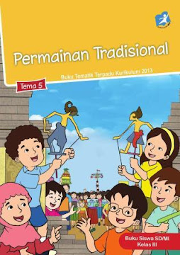 Buku Tematik Kelas 3 SD/MI Kurikulum 2013 Revisi 2018