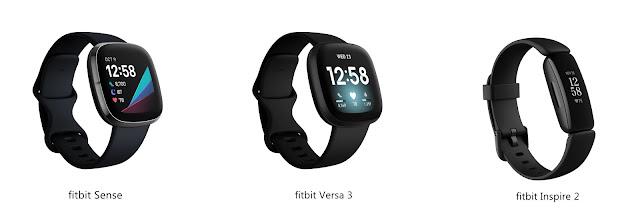 Fitbit Sense, Fitbit Versa 3, Fitbit Inspire 2, Fitbit Malaysia, Fitbit, Fitness Tracker, Fitness Watch, Fitness