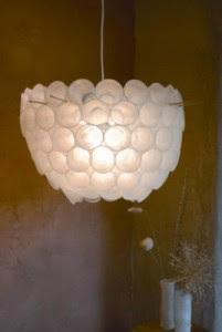 lampara-vasos-reciclados