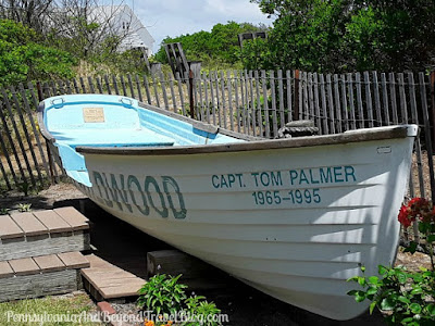 North Wildwood Wood Rowboat in New Jersey