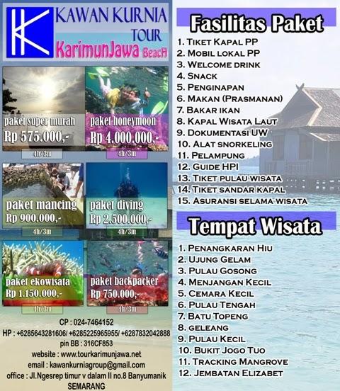 Tour Karimunjawa Paket Tour Karimunjawa Travel Wisata Murah