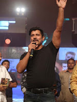 Kollywood Hero Chiyaan Vikram Latest Photos at Inkokkadu(Iru Mugan) Movie Audio Launch Function