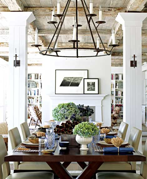 Olive & Gray: Rustic Chic Interior Design
