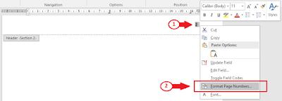 Cara Membuat Halaman Berbeda di Word