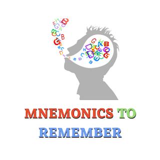 Mnemonics to Remember