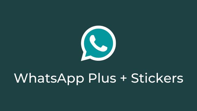 WhatsApp Plus + Figurinhas