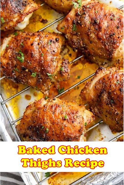 #Baked #Chicken #Thighs