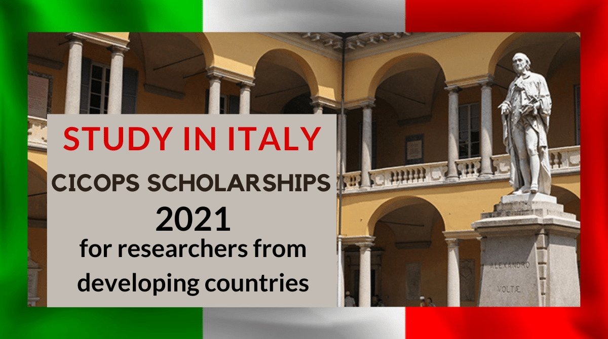 CICOPS Scholarships 2021 for Developing Countries