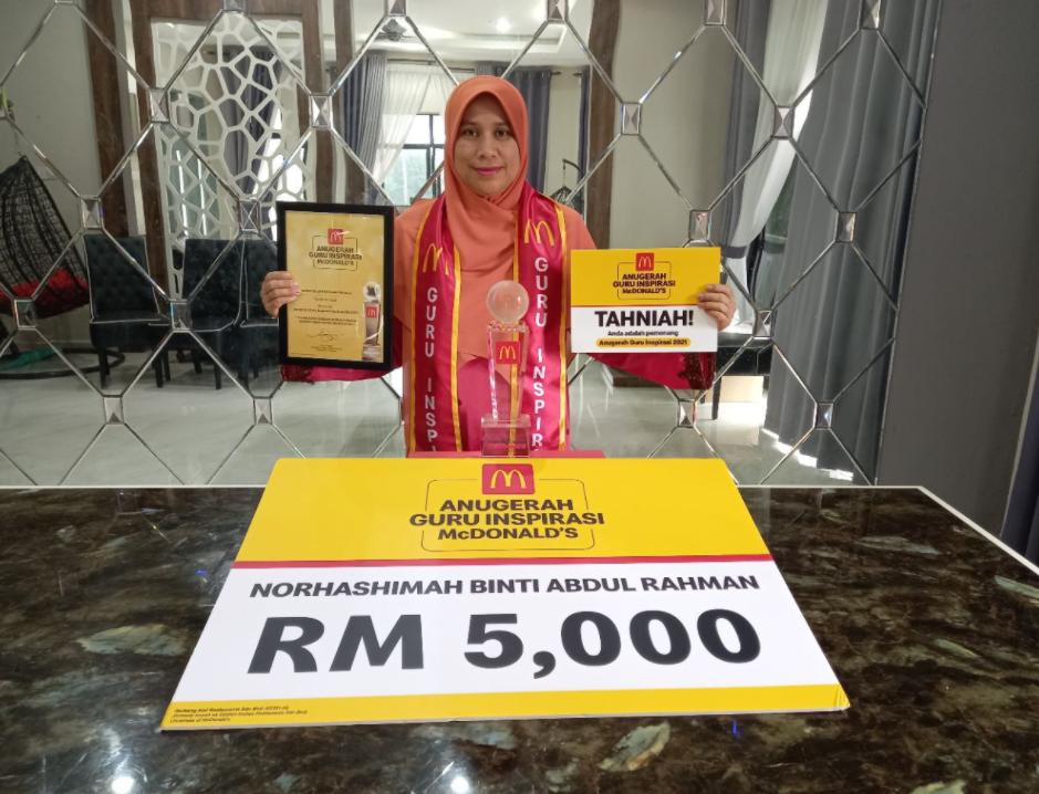 Pemenang Anugerah Guru Inspirasi McDonalds 2021