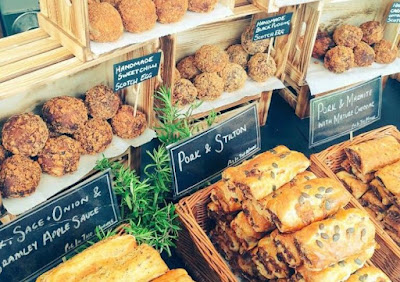 Delicious eats at the Falmouth Folk and Cider festival