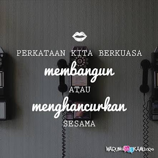 Hati-hati dalam berkata-kata