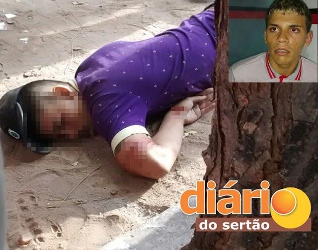 Jovem é assassinado a tiros próximo a escola estadual na cidade de Sousa