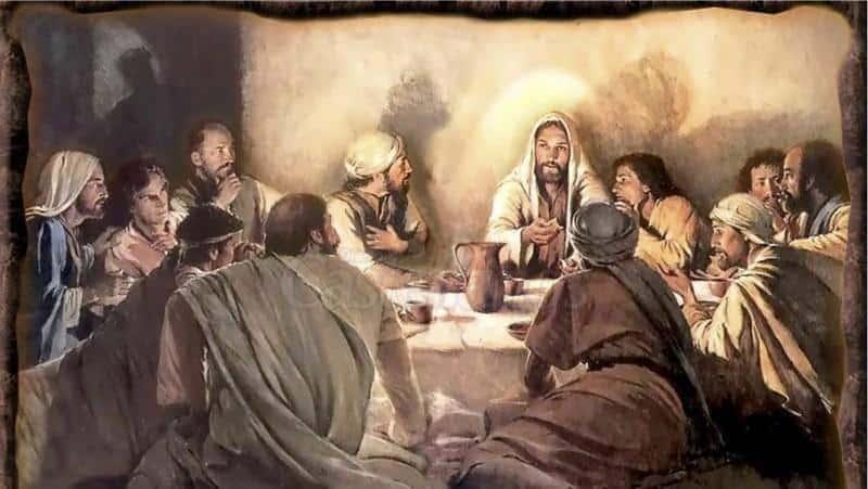 La celebración de la pascua (Mateo 26:17-25 )