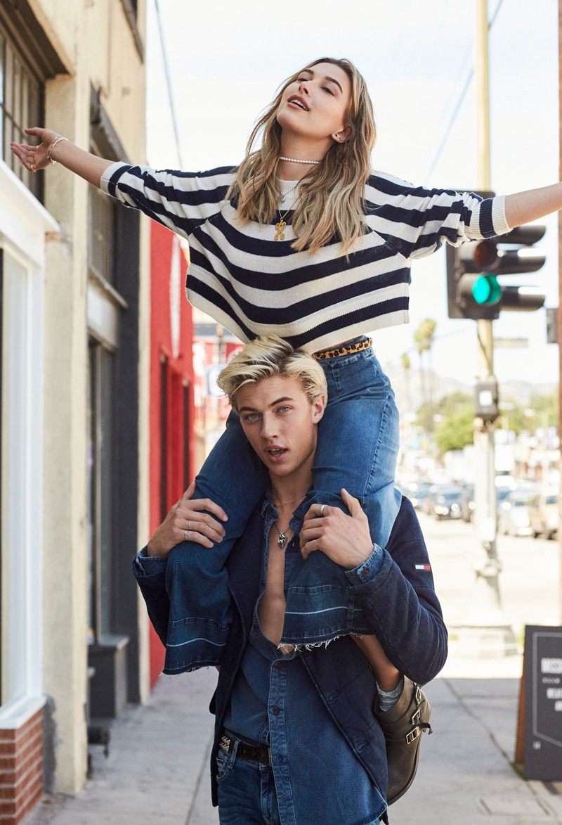 Tommy Hilfiger Denim Fall/Winter 2016 Campaign stars Hailey Baldwin