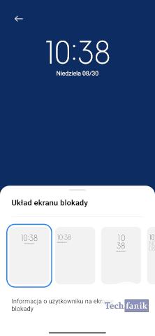 Jak zmienić zegar na ekranie blokady?
