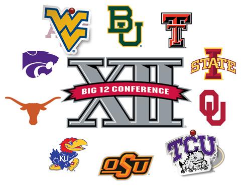 big 12 logo teams - photo #3