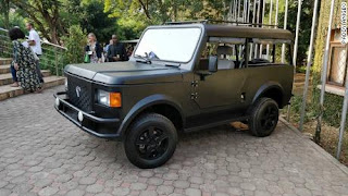 Kenyan-made Mobius II offroad SUV | Specially designed for African roads
