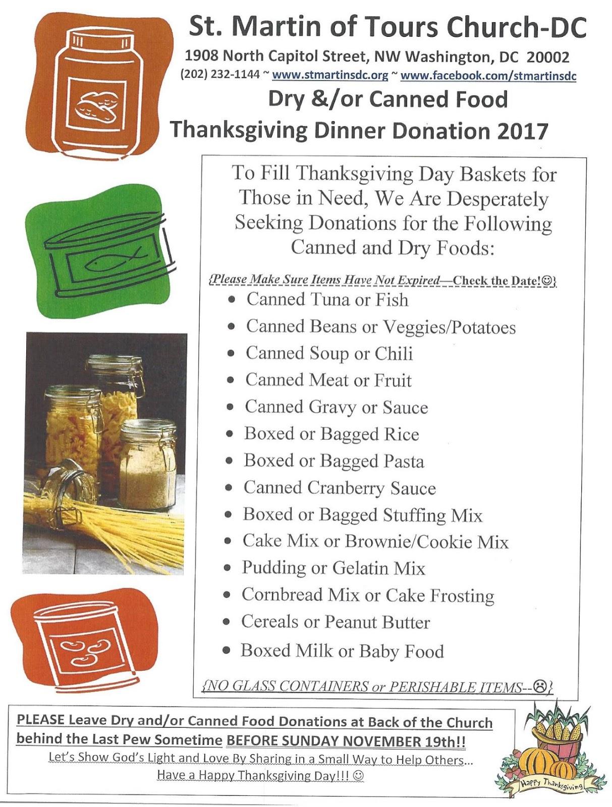 Truxton S Food Donations