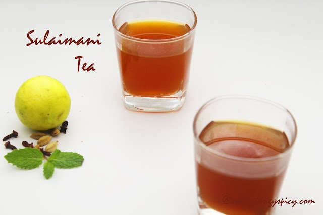 Sulaimani - Flavoured Lemon Tea