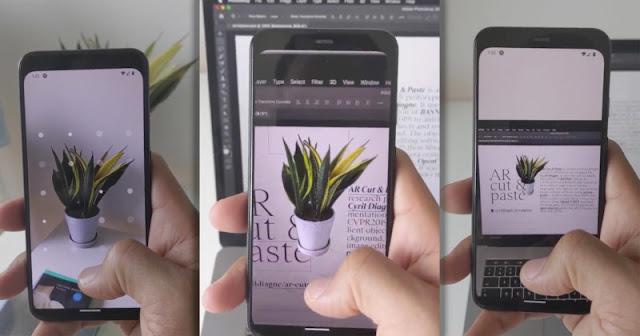 Tecnologia fantascientifica permette di copiare e incollare il mondo reale in Photoshop