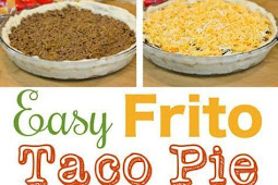 Frito Taco Pie With A Crescent Dough Crust