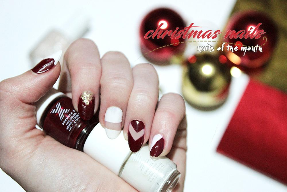Christmas nail art Christmas nails Uñas para navidad