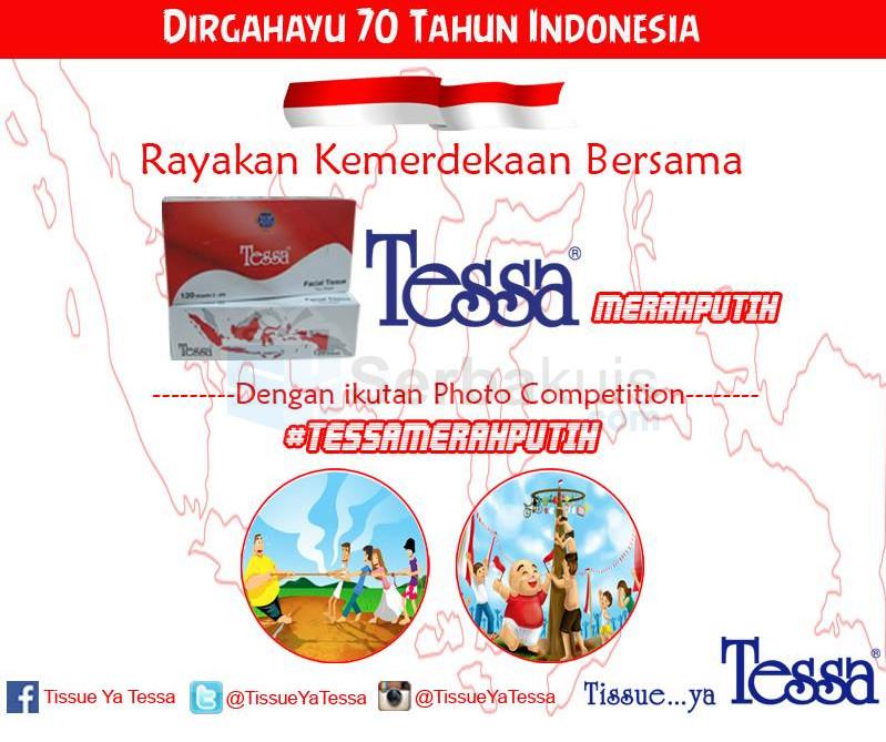 Kontes Tessa Merah Putih Berhadiah Voucher Belanja Jutaan Rupiah