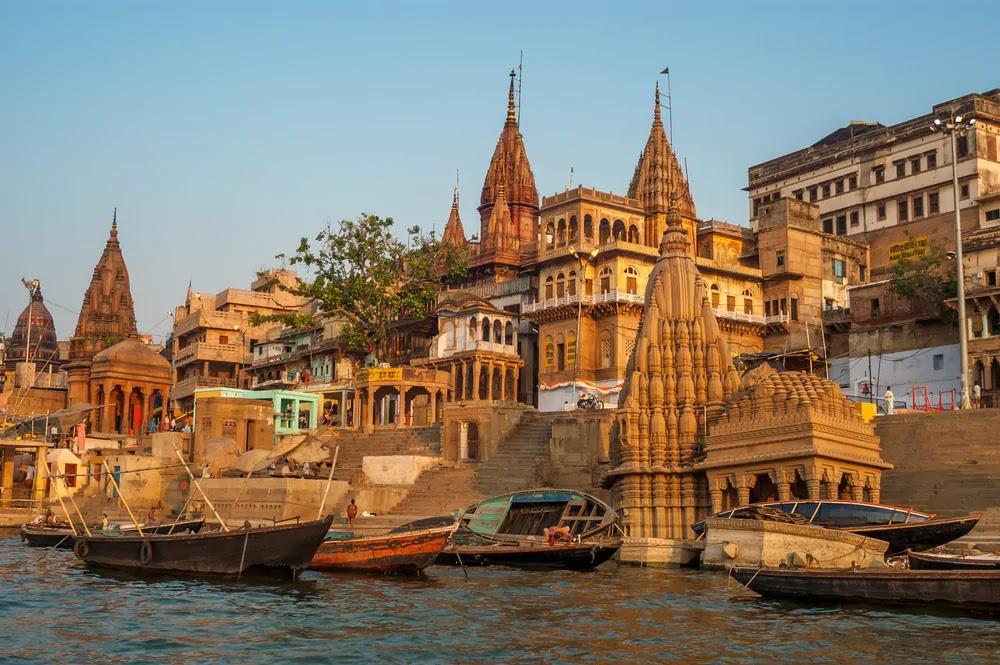 Храмы в городе Варанаси, Индия