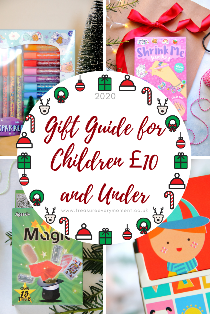 CHRISTMAS: Gift Guide for Children £10 and Under